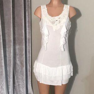 Boho dress NWOT. Monoreno brand